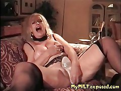 My MILF Naked - matured granny hot wax tits play