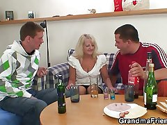 Drinking leads prevalent trine orgy