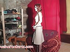 Backstage casting interview roughly hot MILF