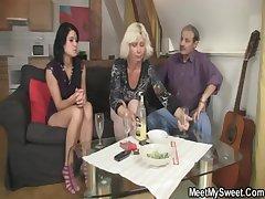 chizzycam.com - Big tits MILF lady-love lesbian doggystyle (84)