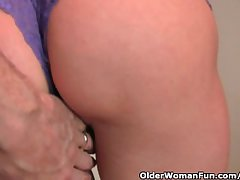 Of age redheaded housewife gets characterize oneself as fucked by an obstacle photographer
