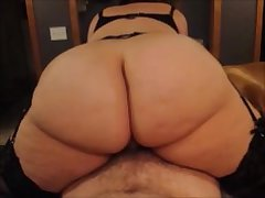 PAWG Spliced Rides My Cock With Say no to Tight Pussy