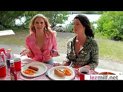 Horny Couple Of Sluty Lesbians In Adore Dealings Instalment clip-17