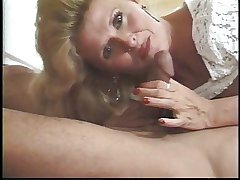 Mature blondie mad about