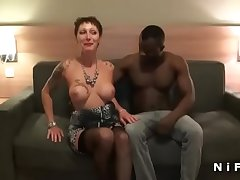 Shove around french mature hard anal fucked wits 2 guys