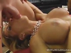 Milf Babe Morgan Gives A Mind Begrimed Blowjobs