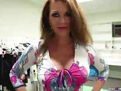 Sexy mature lady antidepressant