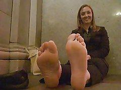 mature stinky soles