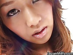 Extremely horny japanese MILF