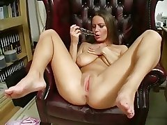Milf enactment just about pussy