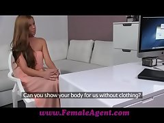 FemaleAgent Mirage of beauty with the addition of her dripping wet pussy
