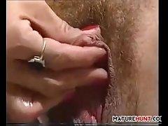 Adult Blonde Unsubtle Close by A Big Clit