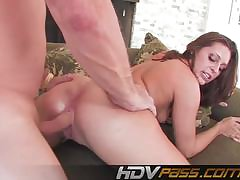 British pizzazz full-grown loves young cock pounding her