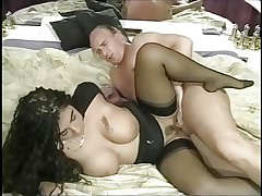 Luscious german MILF wold stockings fucked at a difficulty club