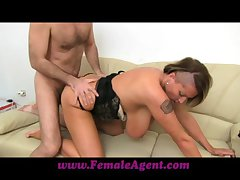 FemaleAgent Biggest breasts concerning Hungary