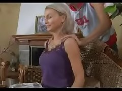 Hot mom n148russian blonde ruffled mature milf increased by young baffle