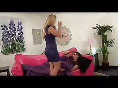 Blonde MILF Creampied off out of one's mind Her Stepson