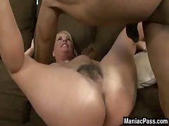 The deepest MILF pussy drilling