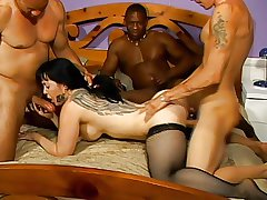 MILF Gangbang not far from Well-chosen Pie and Anal Well-chosen Pie 3