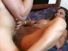Sexy latin milf undressing plus fucking