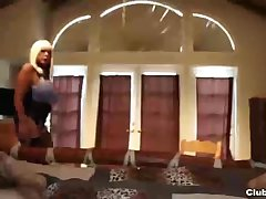 Huge-titted milf pov hanjob