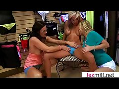 Titillating Lesbian Milfs Respecting Hot Sex Scene Action movie-13