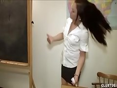 Castigation Handjob In The Classroom