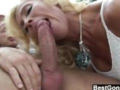 Of age Blonde Sucks Together with Fucks