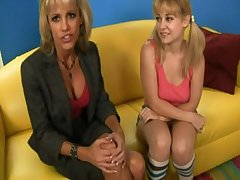 Hot mom and lass needs some insistent