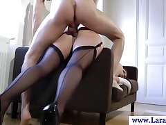 Busty glamour mature loves cum more than face