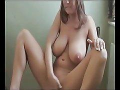 Ass Milf Masturbates and Orgasms
