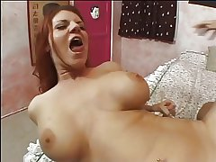 Beautiful unlighted anal milf with sales talk gets her asshole brim with big detect