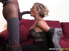 MILF Lexxi Weary Having Her Greatest Interracial Have a passion At DogFart Network