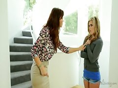 Syren De Mer and Sasha Heart at GirlsWay