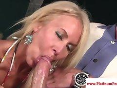 Erica Lauren gets mouthful be proper of cum
