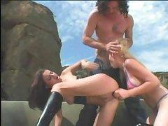 Rampant Persia Monir glides this dildo nigh her slit