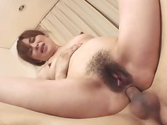 Mature asian milf lip with team a few cocks in a threeway