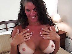 Texas chubby tits tan lines MILF POV
