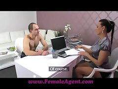 FemaleAgent New MILF spokeswoman likes evenly constant and everlasting