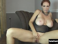 Horny MILF Charlee Chase's Pussy Needs Satisfying