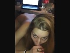 She gets fucked in he exasperation and gets a cumshot