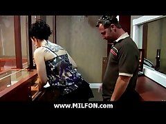 MILFON.com - Adorable Milf Possessions Fucked At the end of one's tether Hunter 2