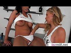 Lez Milfs (Brianna Board & J Love) Not far from Sex Sham Tape  video-10