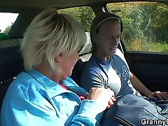 Old gripe gets nailed in the car by a non-native