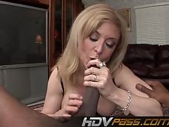 HDVPass Milf Gets Her Pain in the neck Pounded by Huge Black Bushwa
