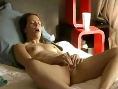 Young Tow-haired Teen playing involving Mature Tow-haired Temptress