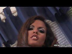 Hot Vanessa High-pressure big bushwa blowjob