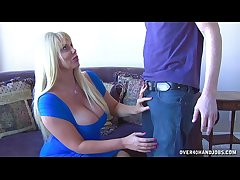 Huge-Titted Comme �a Strokes A Young Guy's Weasel words