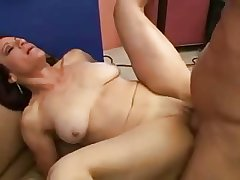 Saggy amateur full-grown fucked and facialized