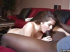 Matured Honey Gets Laid With A Black Stud